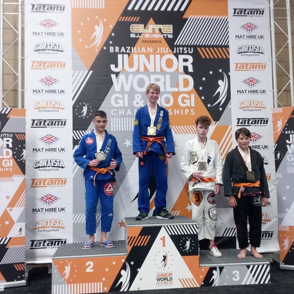 3ème place au BJJ Junior World Championship pour Matisse !