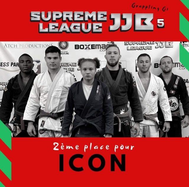 Team ICON 2ème de la Suprême League JJB 5