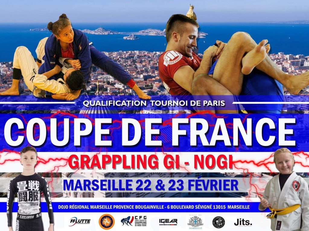 COUPE DE FRANCE CFG DE GRAPPLING GI ET NOGI 2020